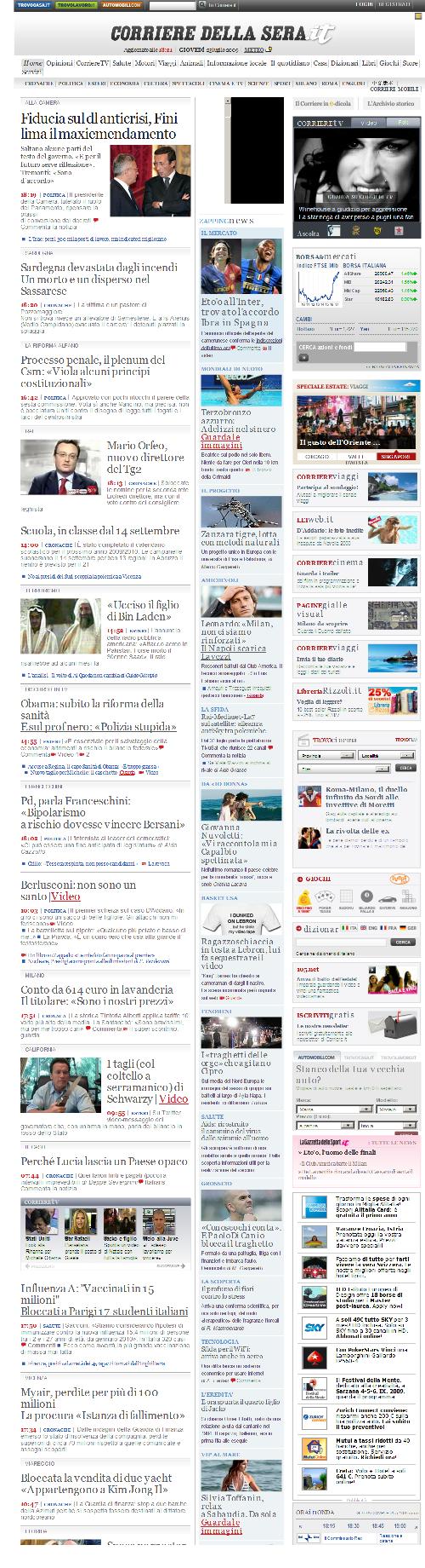 Corriere della Sera_23Jul2009