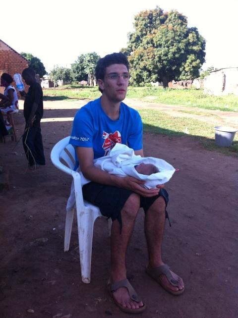 Piero and baby Gio