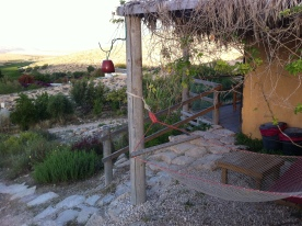 Our cottage at Carmey Avdat farm