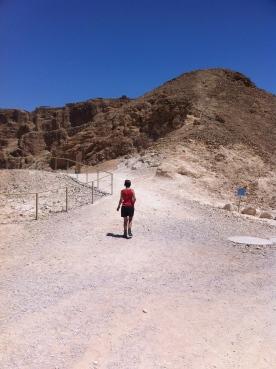 The ascent to Masada