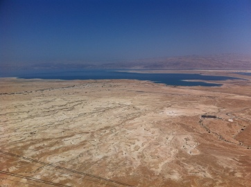 View on the Dead Sea