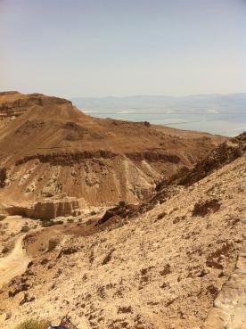 The Sodom-Arad road